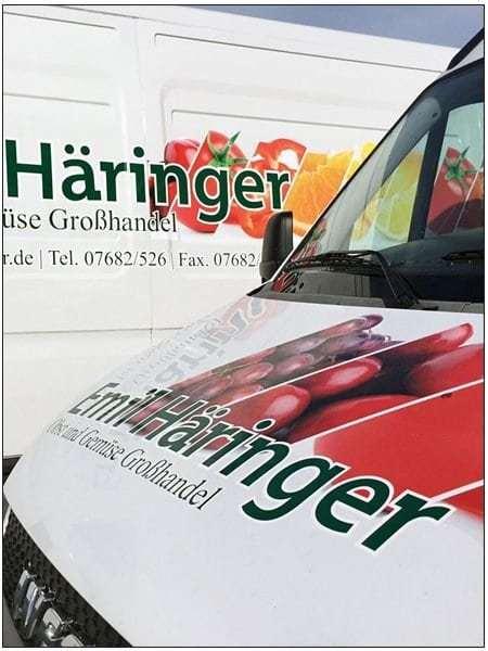 Werbefolierung Fahrzeugfolierung