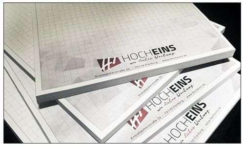 Printprodukte Block Lieferscheine