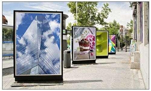 Firmenschilder Aluverbund Acryl Werbetechnik Freiburg