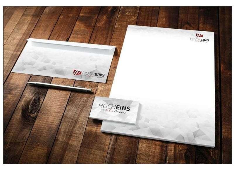 Visitenkarten Briefpapier Umschläge