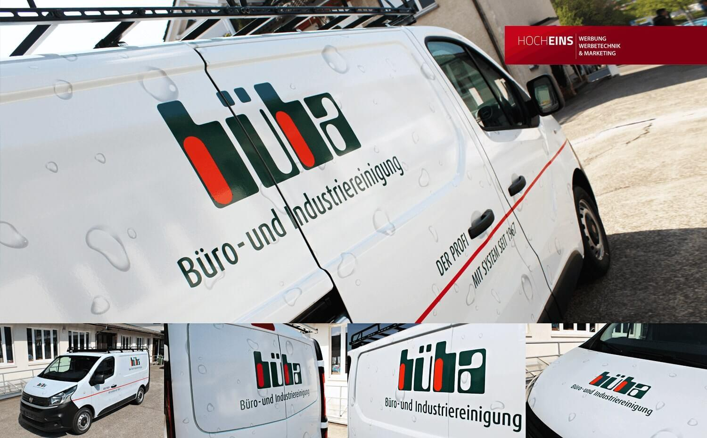 Fahrzeugwerbung Fahrzeugbeschriftung Freiburg
