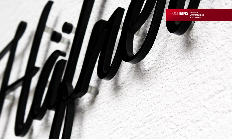 Lichtwerbung Leuchtwerbung Leuchtkasten LED-Schild Firmenschild Acrylbuchstaben Leuchtreklame Leuchttransparent Leuchtbuchstaben Plexiglas Acrylglas Praxisschild Büroschild Werbeschild Freiburg Emmendingen Werbetechnik Werbung Werbeagentur